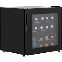 LEC DF50B 48 Litre Table Top Wine and Beer Fridge - Black