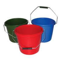 Stadium 5L Calf Feeding Farm Agriculture Bucket Container Storage - Green