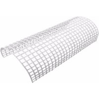Greenbrook White Wire Rounded Tubular Heater Guard Protection - 1 Foot