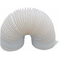 'Zexum Tumble Dryer Flexible Vent Hose Duct 4 Inch / 100mm X 3m