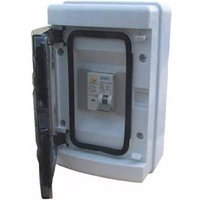 ESR IP65 Shower Consumer Unit Board - 50A 6kA MCB and 63A 30mA RCD
