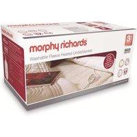 'Morphy Richards Single Fleece Heated Electric Blanket