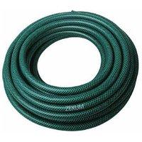 Zexum 15m Reinforced Green PVC Garden Hose