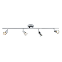 KnightsBridge Ceiling Light GU10 50 Watt 4 Spotlight Bar
