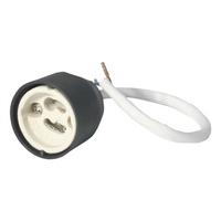 KnightsBridge Basic GU10 Lamp Holder Fitting w/ 150mm Length Silicon Cable