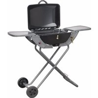 Crusader Portable Propane/Butane Folding Gas Barbecue With Wheels and Handle
