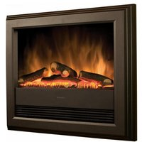 Dimplex Bach Wall Mounted Electric Fire in Black