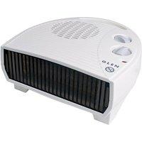 Glen 3kW Electric Flat Fan Heater