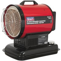 Sealey 20.5kW Infrared Paraffin & Diesel Space Heater