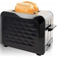 Quest 2 Slice Diamond Toaster - Black