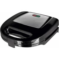 'Status 2 Slice Non Stick Sandwich Toaster - Stainless Steel