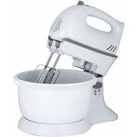 Status 5 Speed Turbo Plastic Hand Mixer & Bowl - White