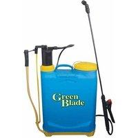 Green Blade 16 Litre Pressurised Knapsack / Backpack Garden Sprayer