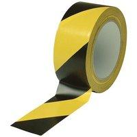 Zexum Yellow/Black 50mm Adhesive Floor Marker Tape - 33m Roll