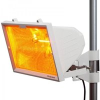 KnightsBridge 1300W Outdoor Infrared Heaters - White