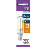 Status 2W SES Filament LED Cooker Hood Bulb