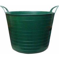 Rhino 40 Litre Heavy Duty Flexi Flexible Garden Container Storage Bucket Tub - Green