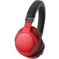 Audio Technica ATH-AR5BTRD High-Resolution Wireless Over-Ear Headphones in Red