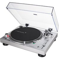 Audio Technica AT-LP120X Manual Direct Drive Turntable (Analogue & USB) - Silver