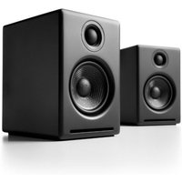 Audioengine A2+ Wireless Bookshelf Speaker System Satin Black