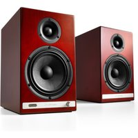 Audioengine HD6 Wireless Speaker System Cherry Wood