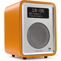 Ruark R1 MK3 Deluxe table top radio with Bluetooth in Burnt Saffron Limited Edition