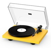 Pro ject Debut Carbon EVO Turntable Satin Golden Yellow
