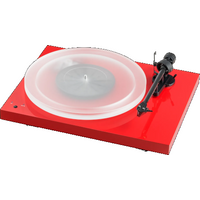 Pro ject Debut Carbon Espirt SB Turntable In Red