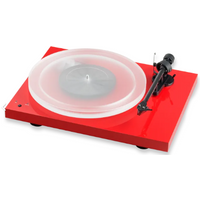 Pro ject Debut Carbon DC Turntable In Red