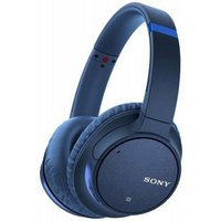 Sony WHCH700NLCE7 Noise Cancelling Over Ear Headphones with Mic Remote Blue