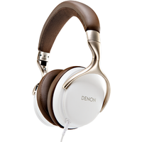 Denon AHD1200WTEM Outdoor Over-Ear Headphones in White