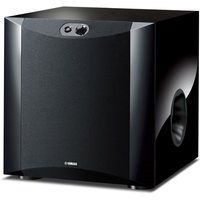 Yamaha NSSW300 Twisted Flare Port Subwoofer in Piano Black