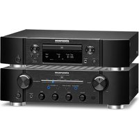 Marantz PM8006 HiFi Amplifier with ND8006 CD Network Player in Black