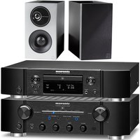 Marantz PM8006 HiFi Amplifier with ND8006 Network CD Player and Definitive Technology Demand Series