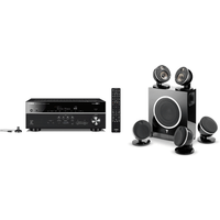 Yamaha MusicCast RXV685 7 2 Channel AV Receiver 3 Year Warranty with Focal Dome Flax 5 1   Sub Air i