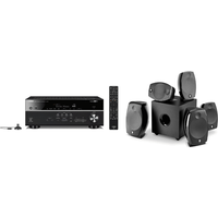 Yamaha MusicCast RXV685 7 2 Channel AV Receiver 3 Year Warranty with Focal Sib Evo 5 1 2 Home Cinema