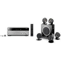 Yamaha MusicCast RXV685 7 2 Channel AV Receiver 3 Year Warranty in Titanium with Focal Dome Flax 5 1