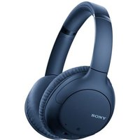 Sony WHCH710NLCE7 Noise Cancelling Over-Ear Wireless Bluetooth Headphones Blue