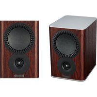 Mission QX 1 Bookshelf Speaker Pair in Rosewood