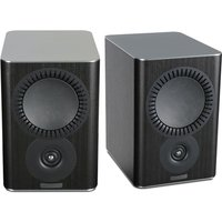 Mission QX 2 Bookshelf Speaker Pair in Black
