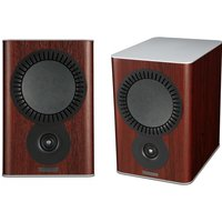 Mission QX 2 Bookshelf Speaker Pair in Rosewood