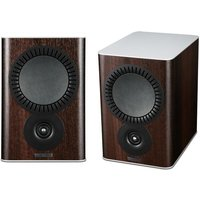 Mission QX 2 Bookshelf Speaker Pair in Walnut