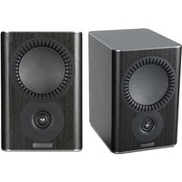 Mission QX 1 Bookshelf Speaker Pair in Black
