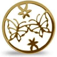 Quoins Anhänger - Open Butterfly Flower - 982500530