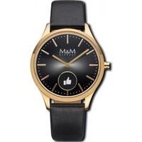 M&M Germany Smartwatch - Hybrid Smartwatch - M12000-435