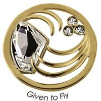 Quoins Anhänger - Given to Fly - Gold - QMOK-10L-G-CC
