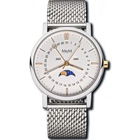 M&M Germany Uhren - Moonphase - M11919-162