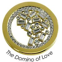 Quoins Anhänger - The domino of love - QMB-16M-G