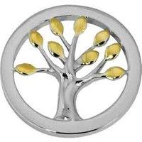 Quoins Anhänger - Baum der Weisheit - Silber, Gold - QMB-30M-EG