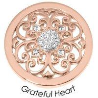 Quoins Anhänger - Grateful Heart - QMB-56M-R
